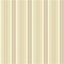 "Waverly 33' x 20.5"" Stripes Long Hill Roll Wallpaper"