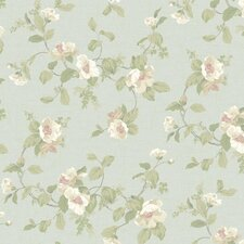 "Hyde Park Southern Belle 27' x 27"" Floral and Botanical Wallpaper"