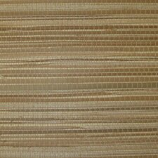 """Tommy Bahama Grasscloth/Tom Color 24' L x 36"""" W Abstract Roll Wallpaper"""