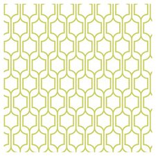 "Bistro 750 33' x 20.5"" Trellis Wallpaper"