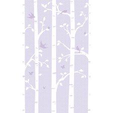 Peek-A-Boo Garden Butterflies / Birds Wall Mural