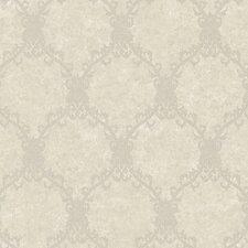"Aged Elegance II Glendale Harlequin 27' x 27"" Trellis Distressed Wallpaper"