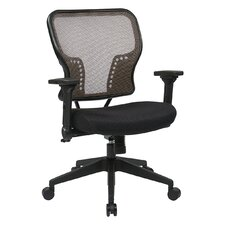 """Space 21.25"""" Chair with 2-to-1 Synchro Tilt Control"""