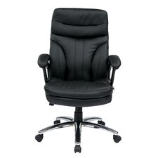 High Back Executive Chair with Padded Arms
