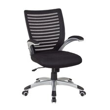 Screen Back High-Back Mesh Conference Chair with Arm