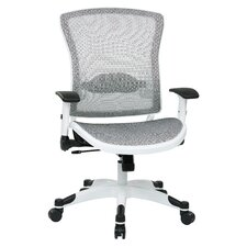 "Pulsar 22.75"" Deluxe Mesh Task Chair with Adjustable Flip Arms"