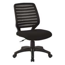 Screen Back Mid-Back Mesh Task Chair with T Arm