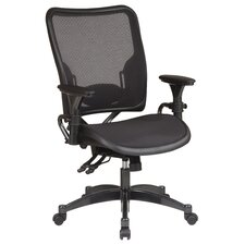 SPACE Dual Function Mid-Back Office Chair with Arms