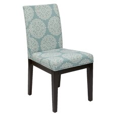 Ave Six Dakota Side Chair in Blue