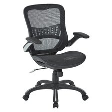 High-Back Mesh Managers Chair with Flip Arms