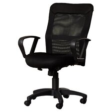 High Back Mesh Office Chair with Loop Arms