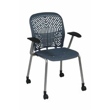 Space Seating Deluxe SpaceFlex Raven Guest Chair (Set of 2)