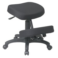 Low-Back Ergonomically Designed Kneeling Chair