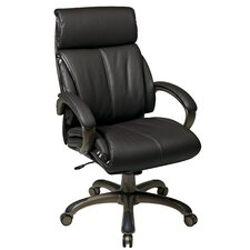 """25.25"""" Back Leather Executive Chair"""