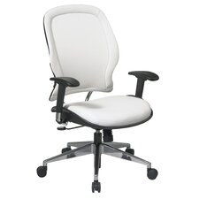 Space Vinyl High-Back Conference Deluxe Conference Chair