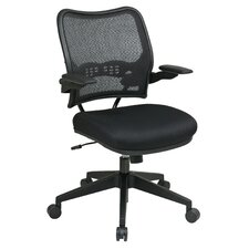 Air Grid Back and Mesh Seat Space Seating Deluxe Office Chair