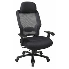 Space Seating Mid-Back Professional Big and Tall Conference Chair