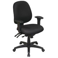 Work Smart Mid-Back Multi-Function Ergonomic Office Chair