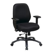 24 Hour Ergonomic Chair with Synchro Tilt, Seat Slider and 2-Way Adjustable Arms