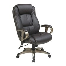 Eco Leather Executive Chair with Arms