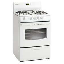 3 Cu. Ft. Gas Convection Range in White