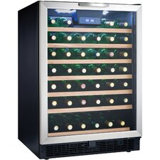 50 Bottle Convertible Wine Refrigerator
