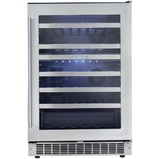 Silhouette 51 Bottle Dual Zone Built-In Wine Refrigerator
