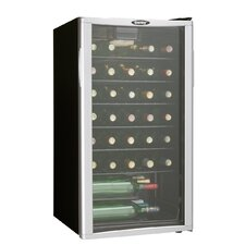 35 Bottle Single Zone Freestanding Wine Refrigerator