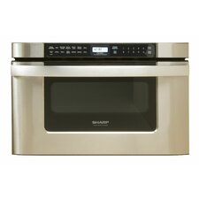 Easy Open 1.2 Cu. Ft. 1000W Microwave Drawer