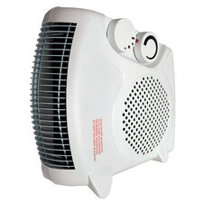 1,500 Watt Electric Fan Compact Heater with Adjustable Thermostat