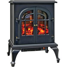 2 Door Stove-Style 400 Square Foot Electric Stove