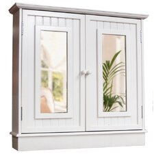 76cm x 75cm Surface Mount Mirror Cabinet
