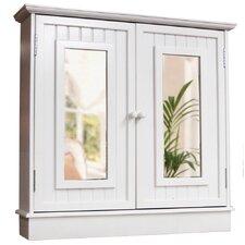 76cm x 75cm Surface Mount Mirror Cabinet