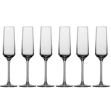 Pure 7.1 Oz. Champagne Flute (Set of 6)