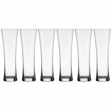 Basic Wheat Tallest Beer Glass (Set of 6)
