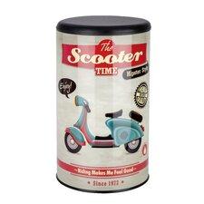 Wäschetonne Vintage Scooter