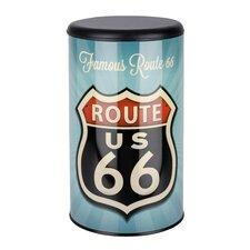 Wäschetonne Vintage Route 66