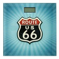 Personenwaage Route 66