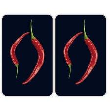 2-tlg. Küchenabdeckung Pepper Duo Universal
