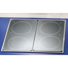 2-tlg. Küchenabdeckung Universal