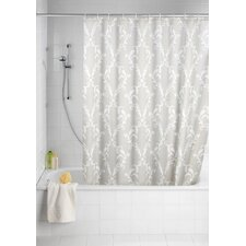 Floral Anti-Mould Shower Curtain