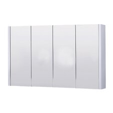 Lux 120cm x 65cm Surface Mount Mirror Cabinet