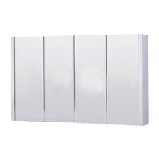 Lux 120cm x 65cm Surface Mount Mirror Cabinet