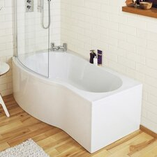 150cm x 86cm Freestanding Whirlpool Bathtub