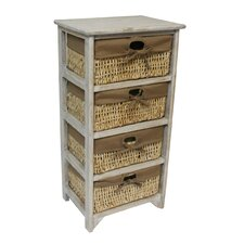Maize Tall 4 Drawer Chest