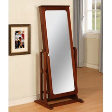 Town Cheval Jewelry Armoire with Mirror