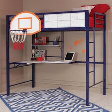 Hoops Basketball Twin Loft Bed