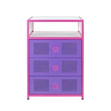 Girls Buggy 3 Drawer Chest