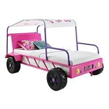 Girls Buggy Twin Car Bed