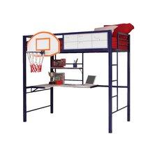 Hoops Basketball Twin Loft Bed